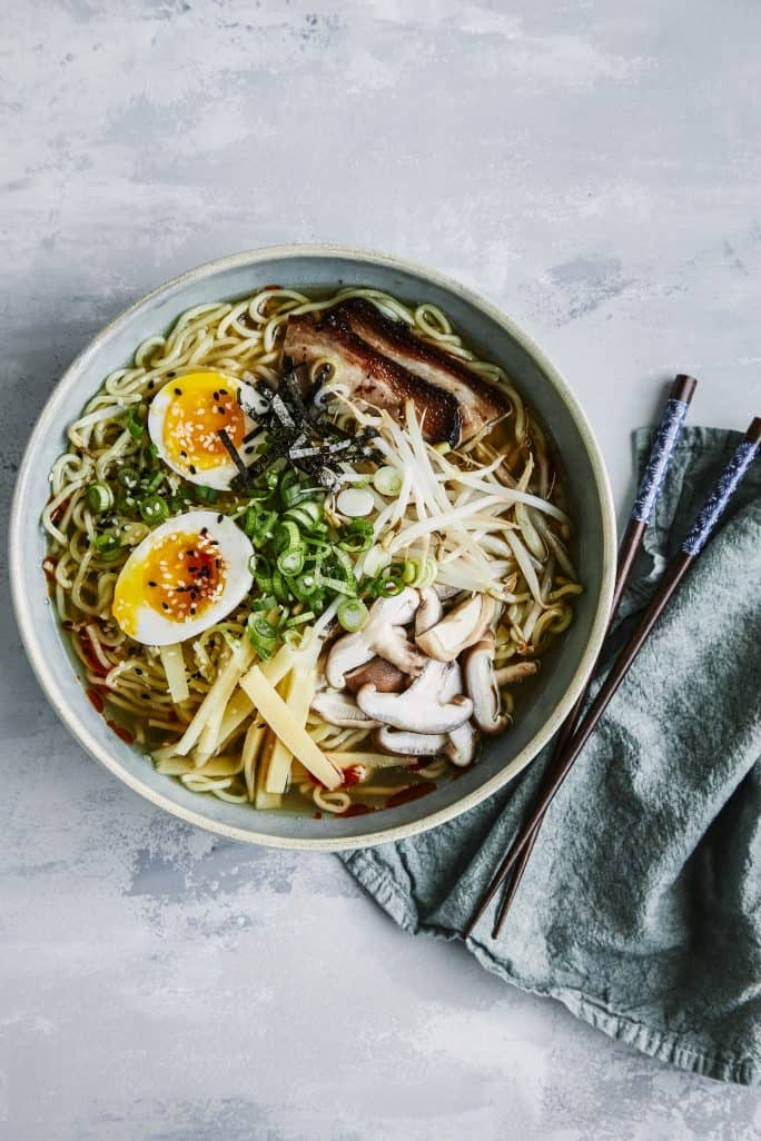 Tonkotsu Ramen - The Electric Pressure Cooker Cookbook For Two