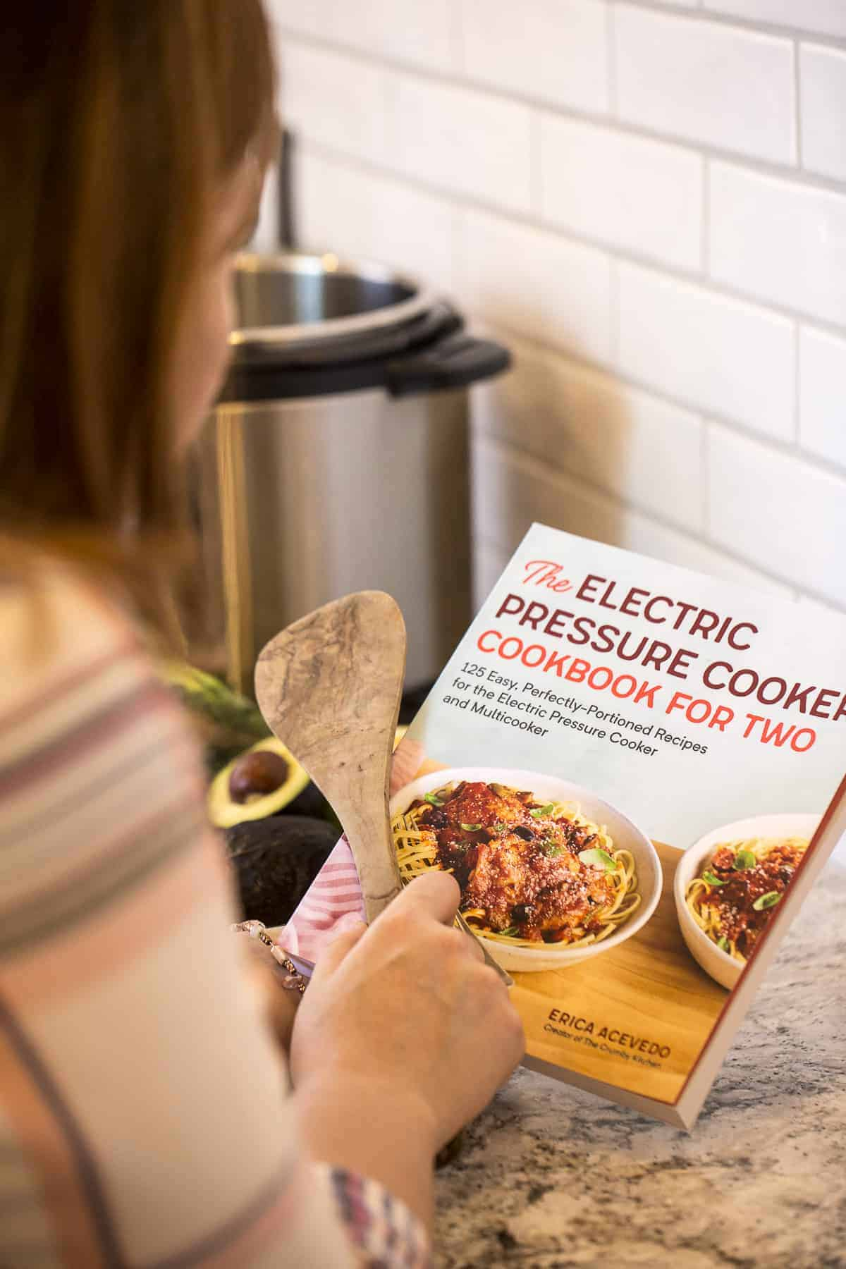 The Electric Pressure Cooker Cookbook For Two is Here!