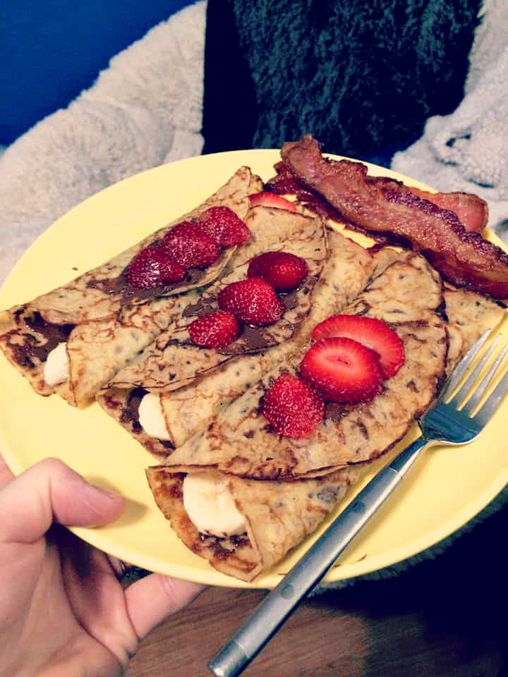 Crepes. And Nutella. And OMG so good.