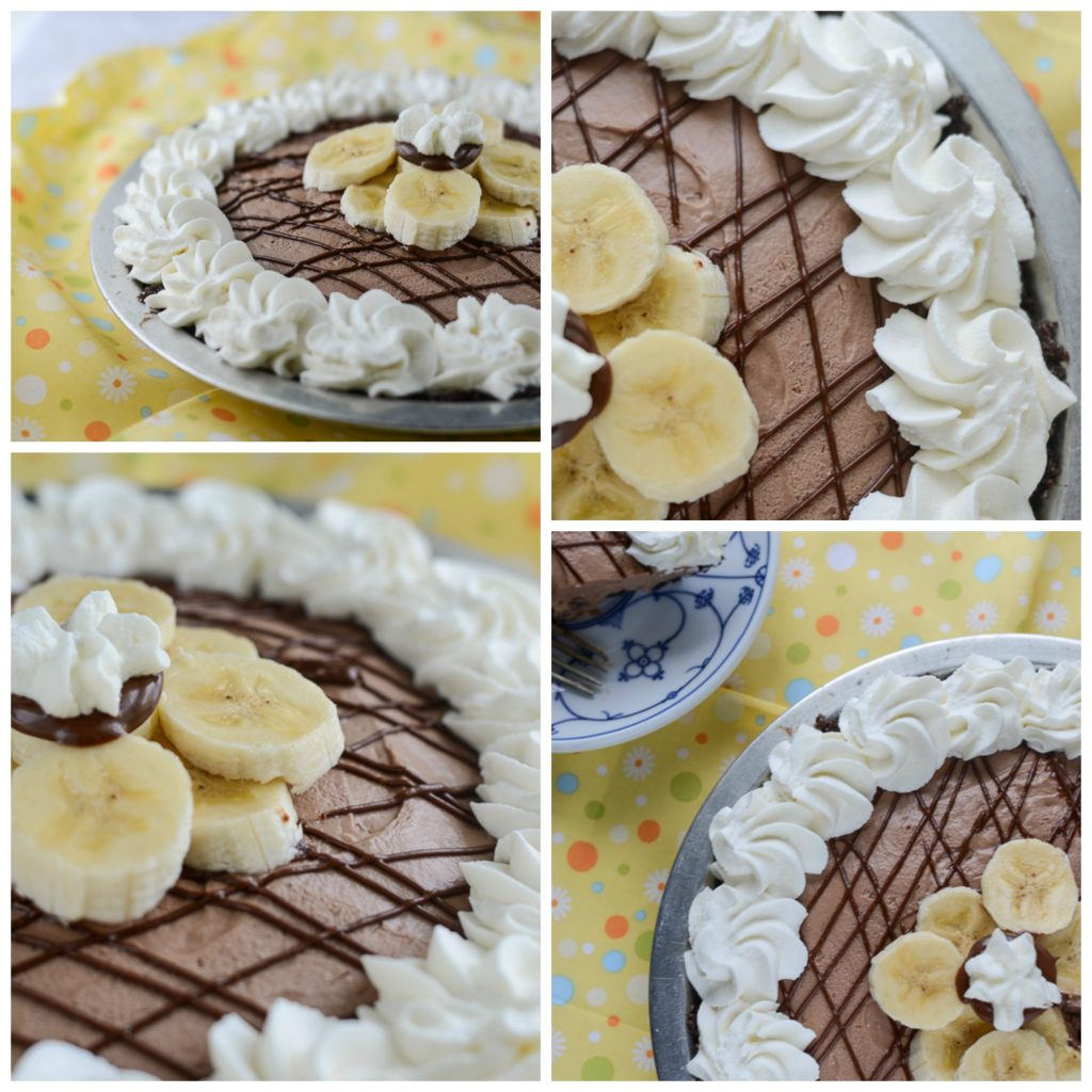 BanaNutella Dream Pie