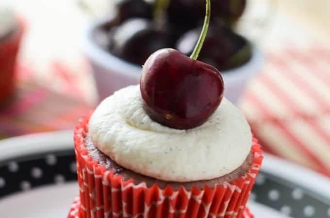 Black Cherry Cupcake