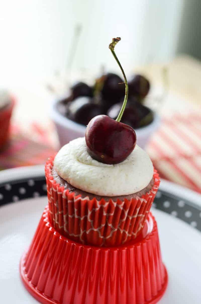 Black Cherry Cupcakes