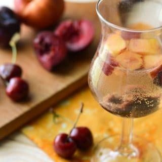 Stone Fruit Sangria