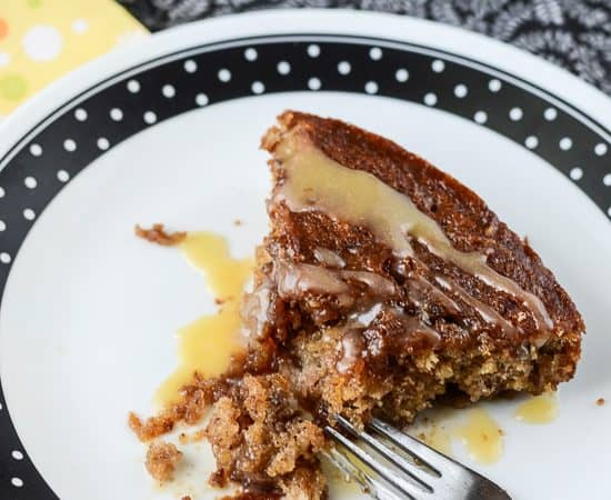 Bananas Foster Coffee Cake