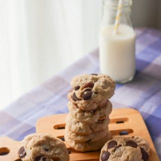 Dark Chocolate Coconut Almond Chip Cookies