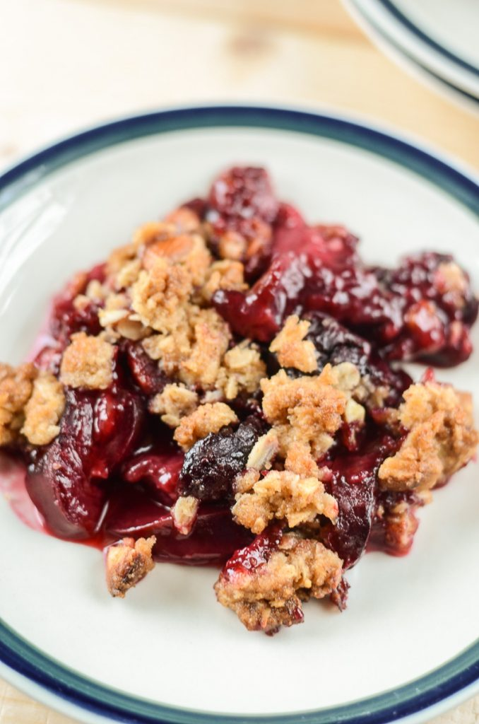 Cherry Plum Crisp