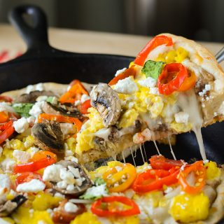 Skillet Breakfast Pizza