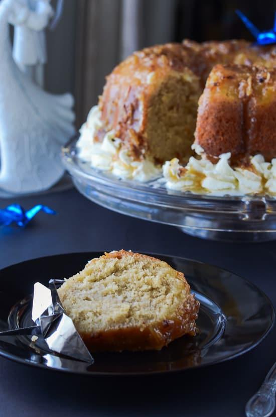 Pina Colada Rum Cake