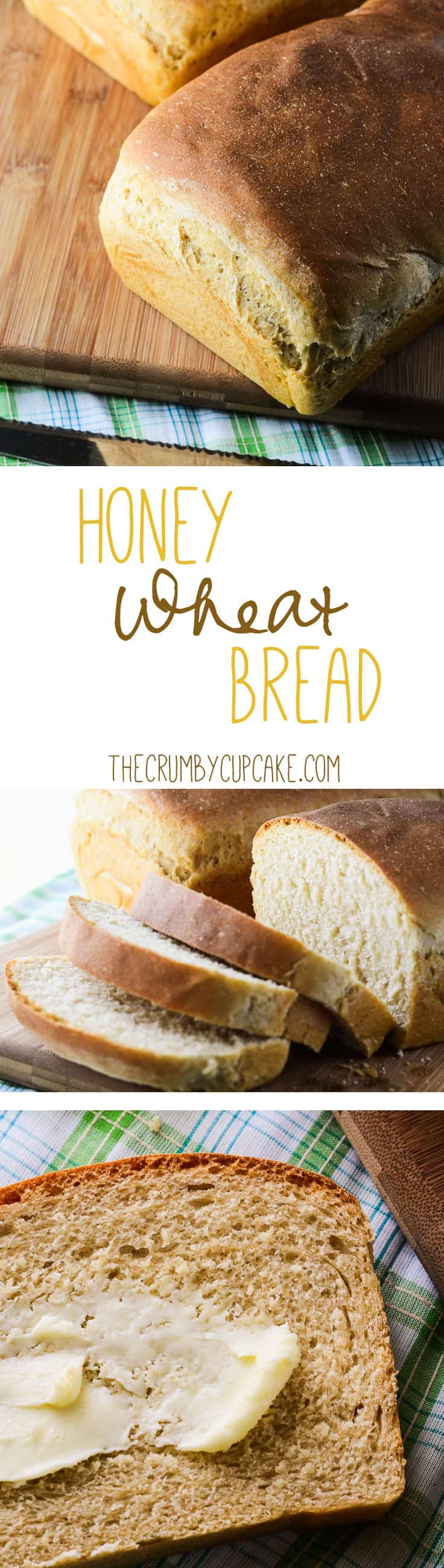 A simple, healthy, delicious honey wheat bread with a lovely browned crust and a soft, tender crumb. Perfect for all the BLTs and PB&Js in your life!