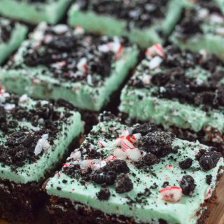 Naughty & Nice Mint Mousse Brownies