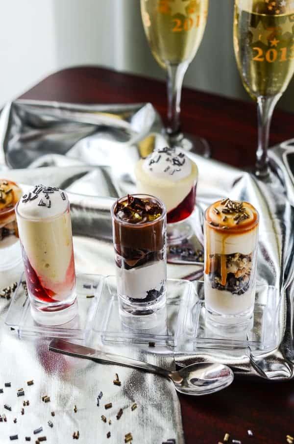 Dessert Shooter Trio