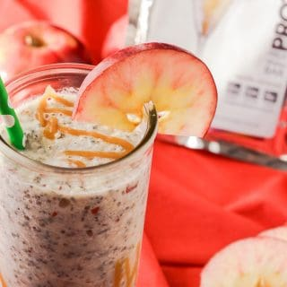 Caramel Apple Pie Protein Smoothie