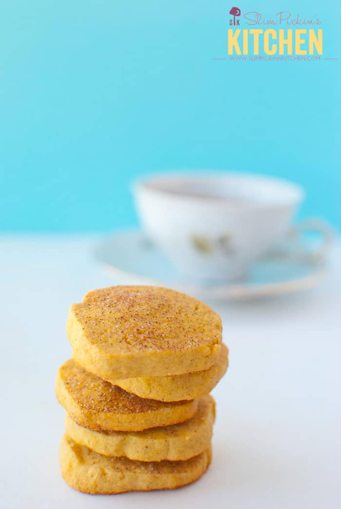 Gluten-free Sweet Potato Snickerdoodle Shortbread by Slim Pickin's Kitchen