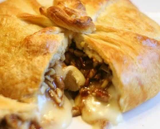 Honey Nut Brie en Croute by The Pickle Bee