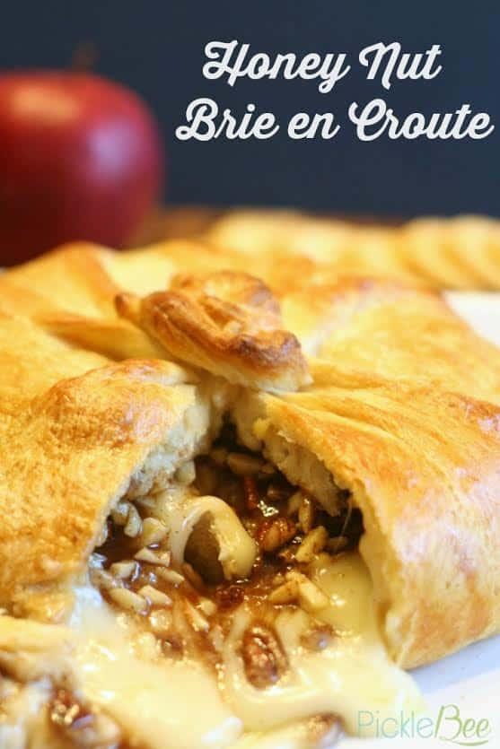 Honey Nut Brie en Croute by The Pickle Bee