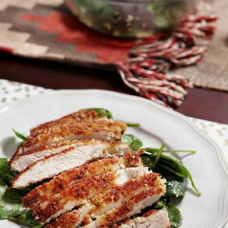 Crunchy Parmesan Chicken Salad