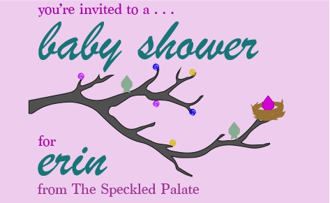 A Virtual Baby Shower for Erin @ The Speckled Palate