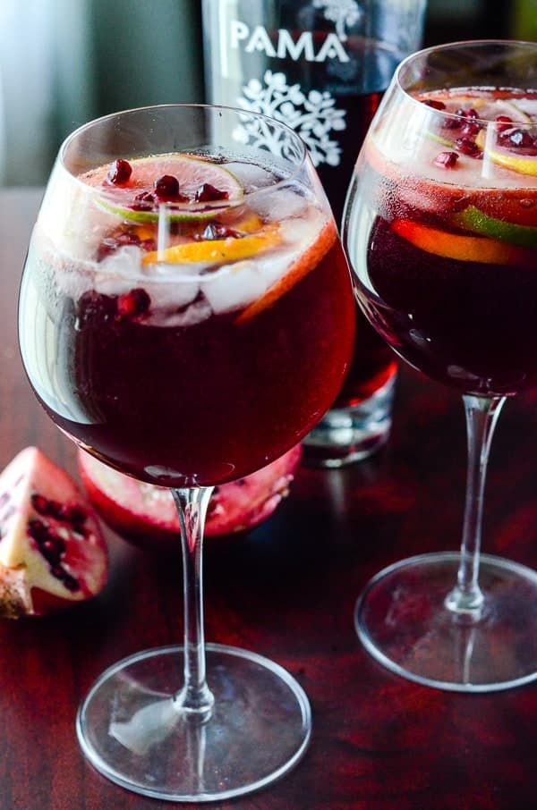 Pomegranate Summer Sangria