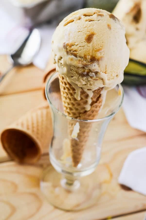 The Best Homemade Dulce de Leche Ice Cream