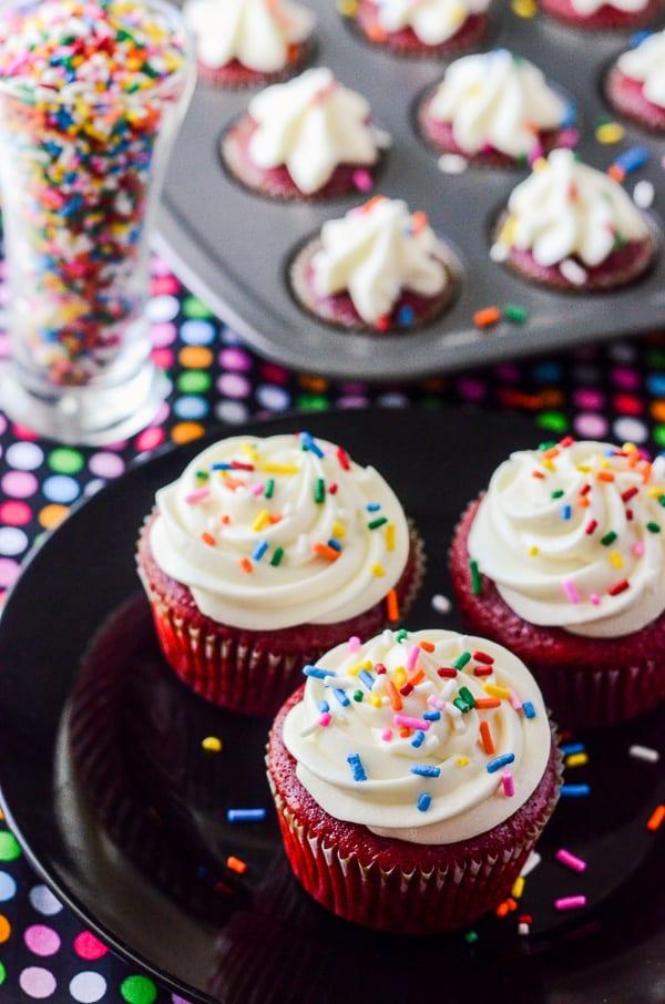 Paula Deen Red Velvet Cupcakes