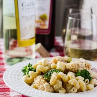 Chicken Cordon Bleu Pasta Salad