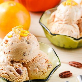 Sunshine Pumpkin Ice Cream