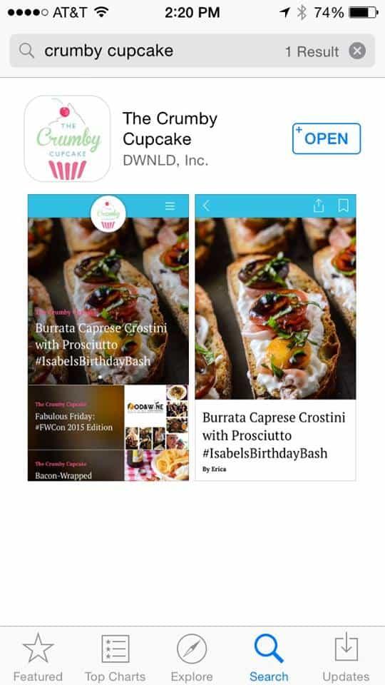 Crumby Cupcake App