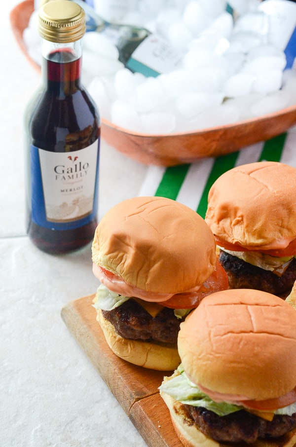 Bacon Bleu Cheese Sliders | One of the best things to come out of Mr. Crumby's Kitchen - Four-bite burgers, packed with bacon, seasoning, and just the right amount of bleu cheese. Even the bleu haters will love them!
