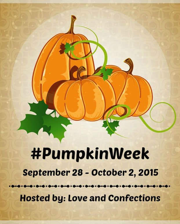 Pumpkin Week 2015 #PumpkinWeek
