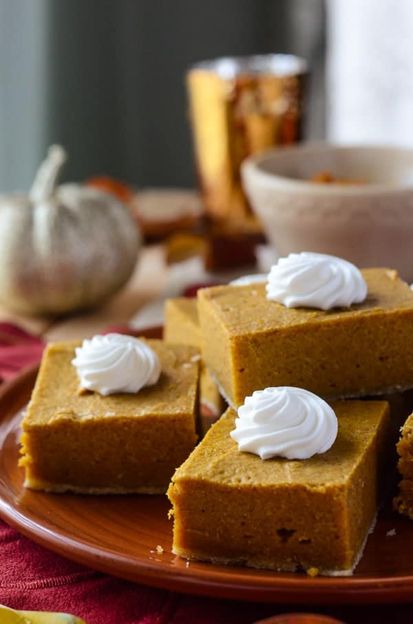 Pumpkin Cream Cheese Bars #PumpkinWeek