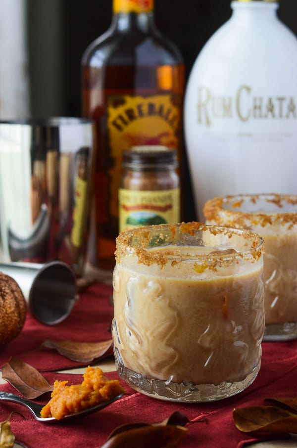 Pumpkin Horchata Cocktail | A boozy fall-flavored infusion of pumpkin spiced proportions!