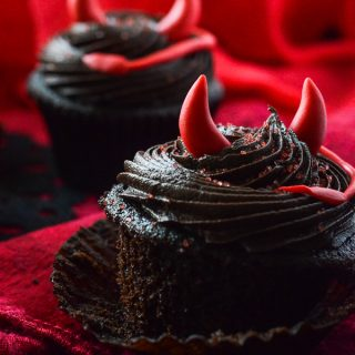 Spicy Little Devil's Food Cupcakes