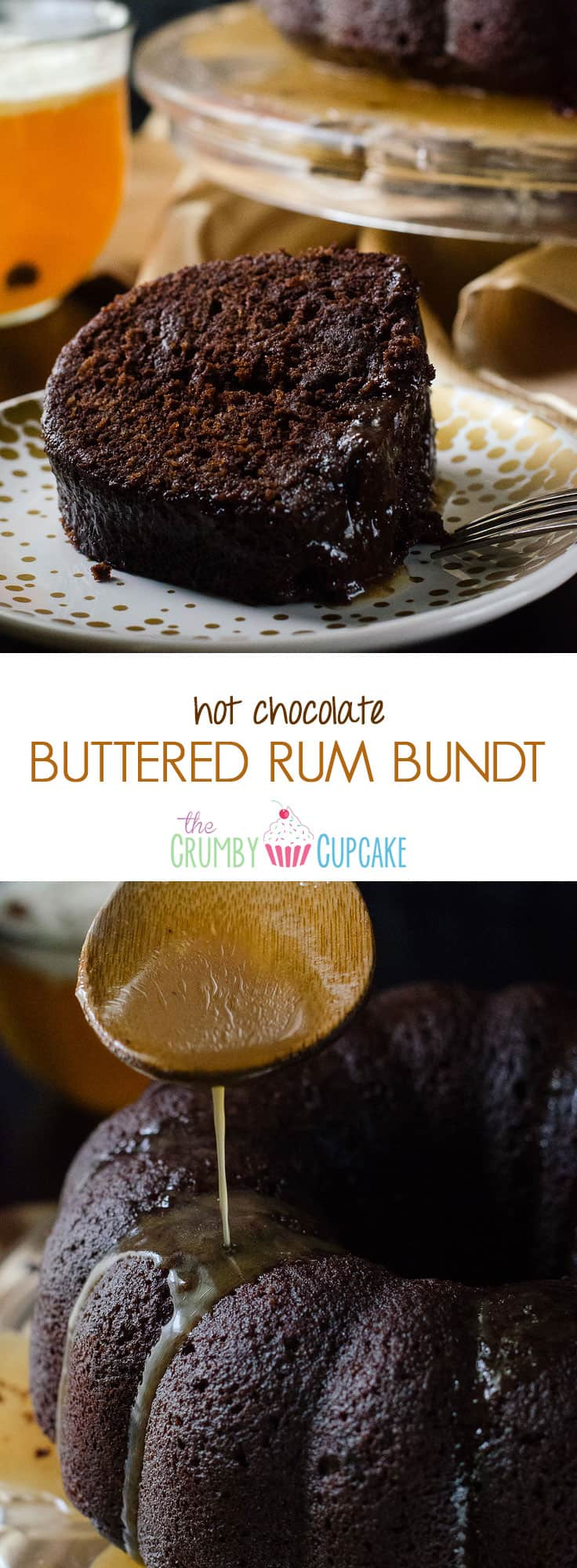 Chocolate Rum Glaze For Bundt Cake