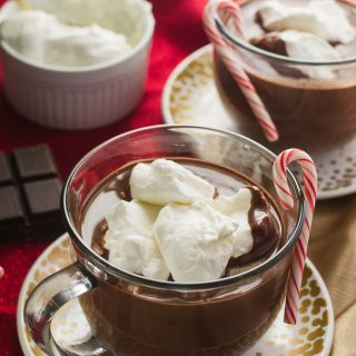 Peppermint French Hot Chocolate