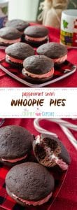 Peppermint Swirl Whoopie Pies   A cool & refreshing winter spin on a traditional Amish cookie, these puffy, cake-like treats are the perfect blend of chocolate and peppermint.
