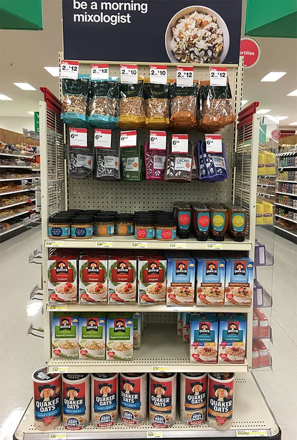 Quaker Bring Your Best Bowl Target display