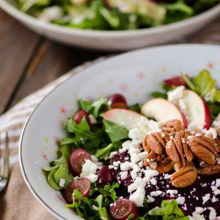Crunchy Beet & Arugula Salad