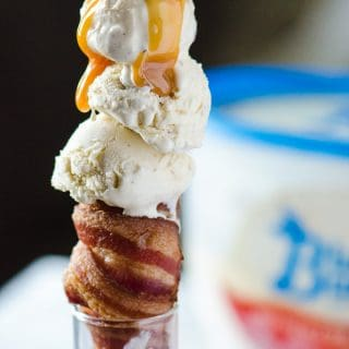 BaCones! (Bacon Ice Cream Cones)