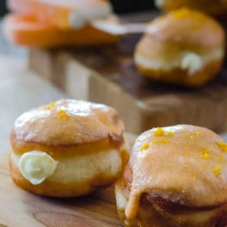 Orange Creamsicle Donuts