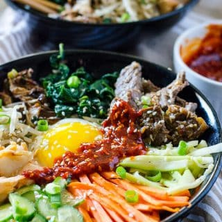 Korean Bibimbap #SundaySupper