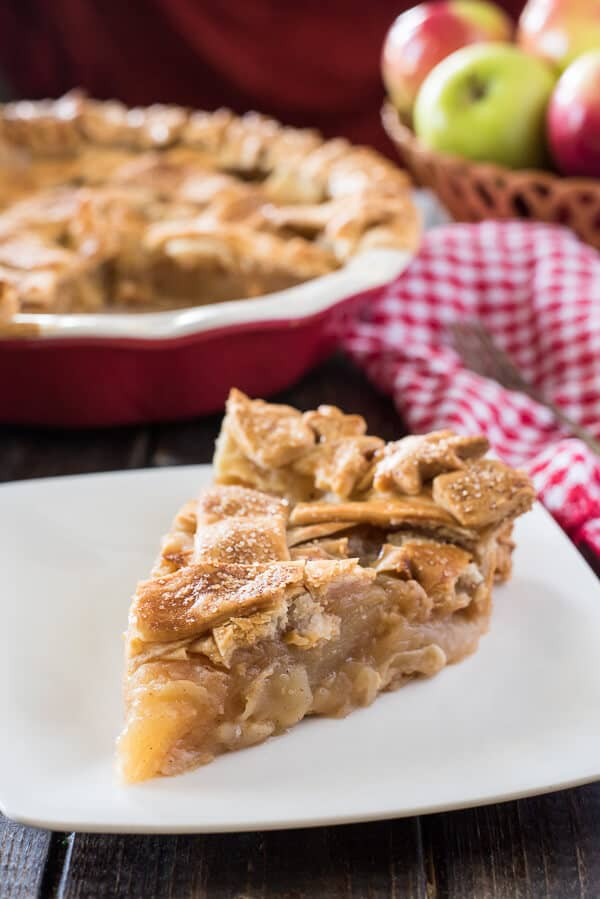 Your life slice apple pie