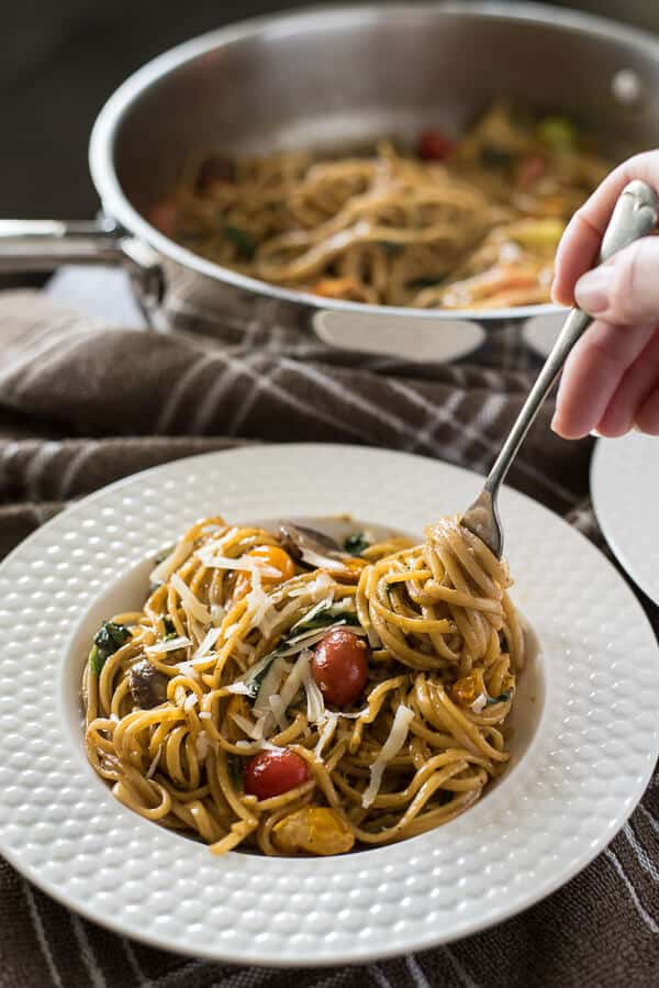 #KeepItEasy Weekly Meal Plan - One Pot Tomato Basil Pasta