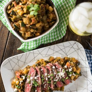 Spicy Grilled Steak Caponata