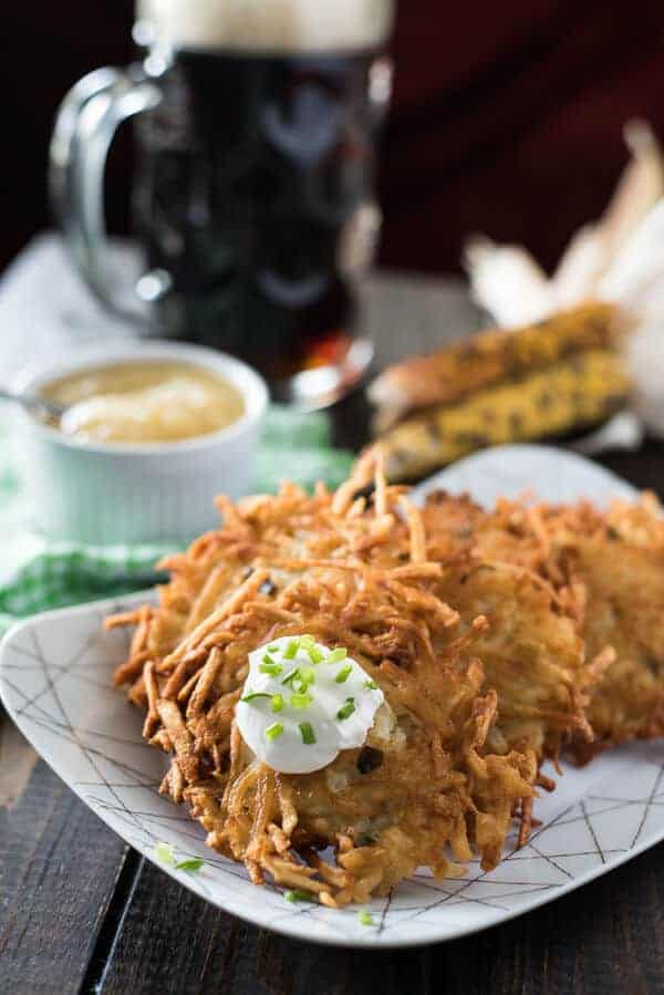 German Potato Pancakes (Kartoffelpuffer)