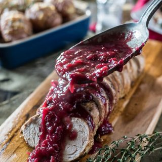 Cranberry Pork Tenderloin