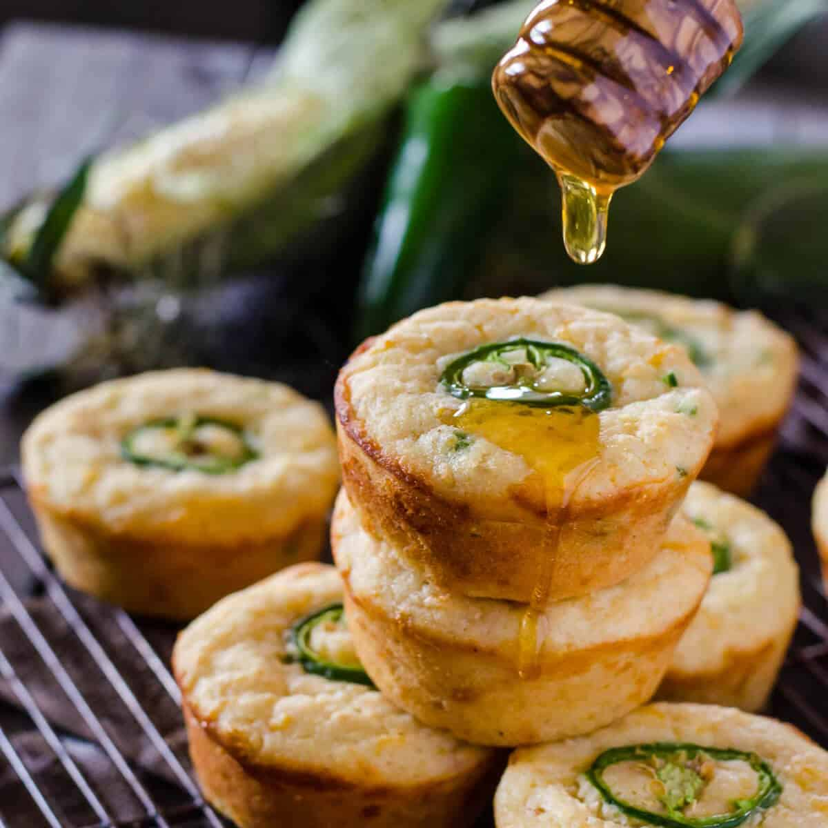 Most Popular in 2016: #3 Jalapeno Popper Cornbread Muffins
