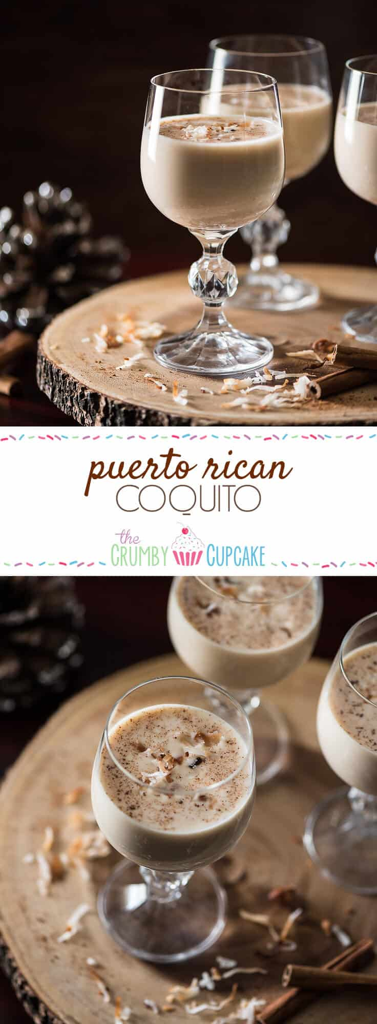 Not the biggest fan of eggnog? Give it's tropical Puerto Rican cousin a try - coconut-based Coquito is rich, creamy, full of rum, and ready for any holiday party!