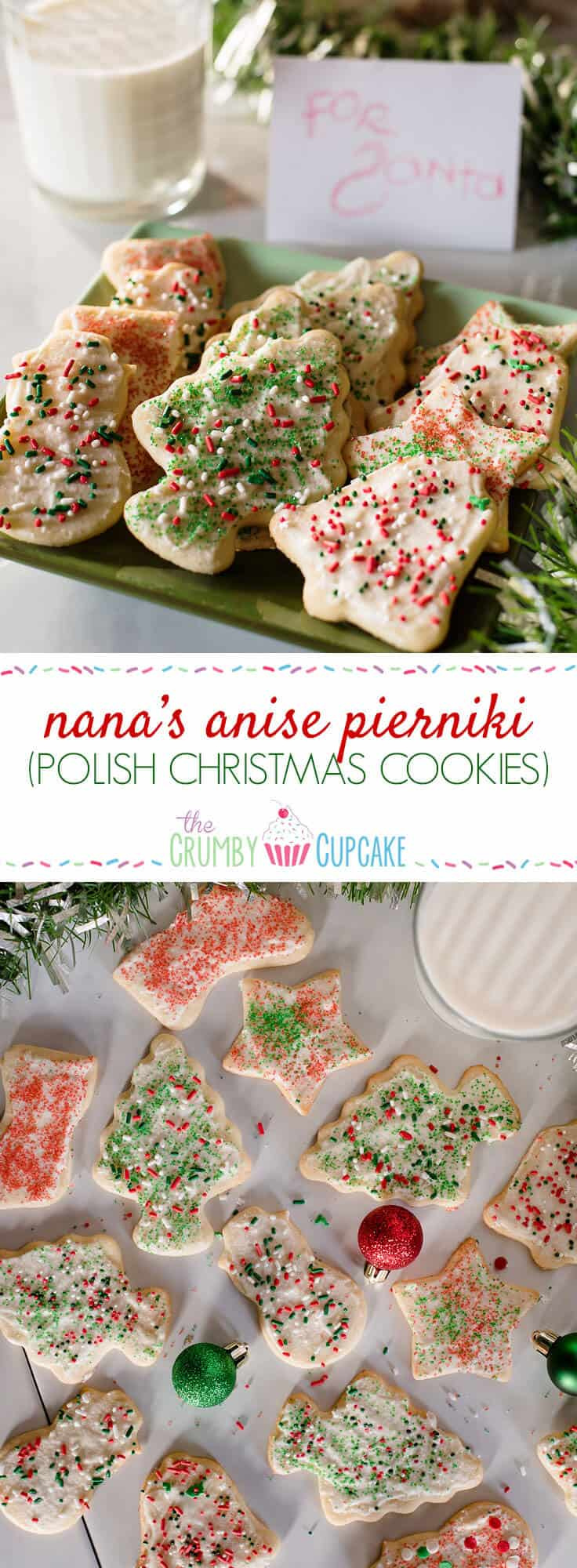 A little bit of patience and a lot of sprinkles will get you the most memorable Christmas experience when you whip up a batch of my Nana's Anise Pierniki (Polish Christmas Cookies Recipe)!
