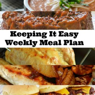 Weekly Meal Plan – Week 3