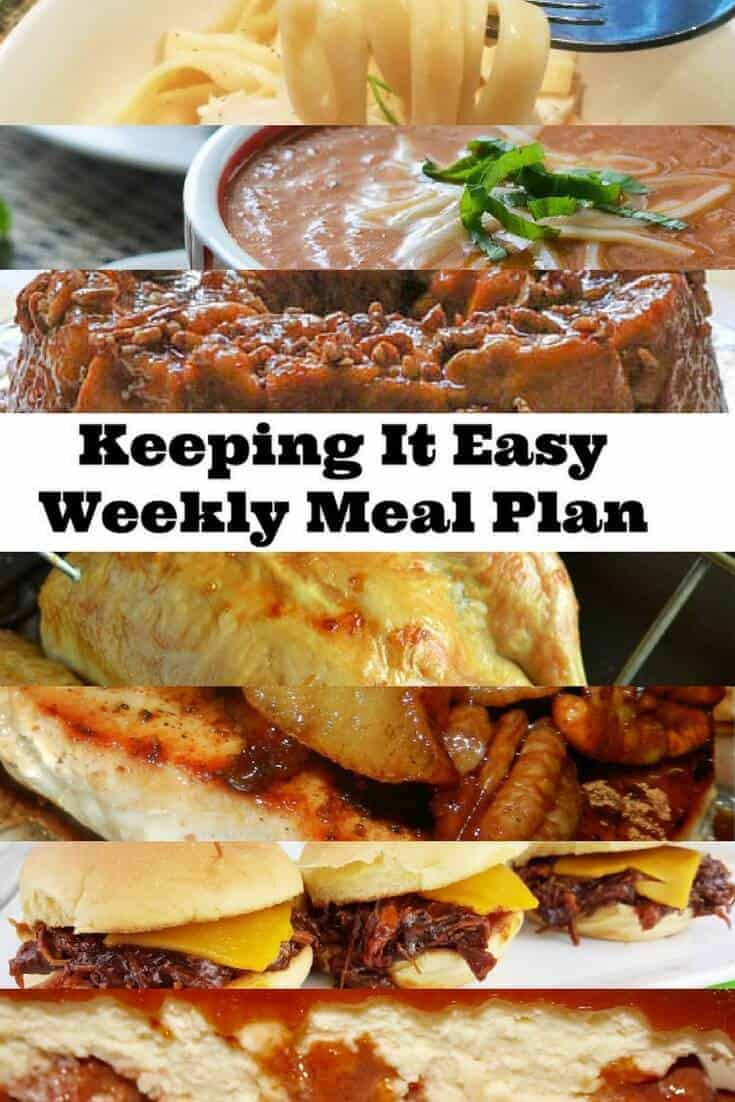 Weekly Meal Plan – Week 3